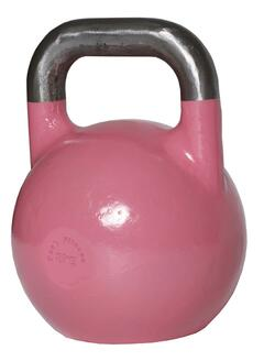 8 kg. Competition Kettlebell - Pink